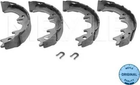 Meyle 30-14 533 0020 - Jeu de mâchoires de frein, frein de stationnement www.widencarpieces.com