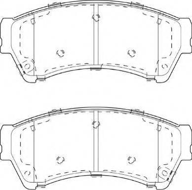 Necto FD7417A - Kit de plaquettes de frein, frein à disque www.widencarpieces.com