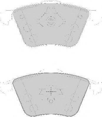 Necto FD7137A - Kit de plaquettes de frein, frein à disque www.widencarpieces.com