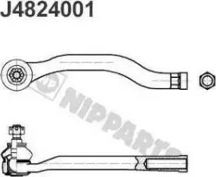 Nipparts J4824001 - Tige de biellette, rotule www.widencarpieces.com