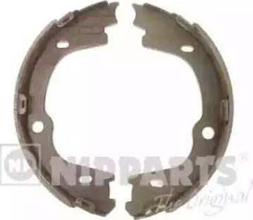 Nipparts N3500536 - Jeu de mâchoires de frein, frein de stationnement www.widencarpieces.com