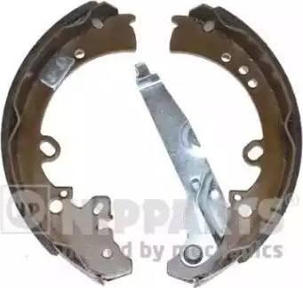 Nipparts N3502088 - Jeu de freins, freins à tambour www.widencarpieces.com