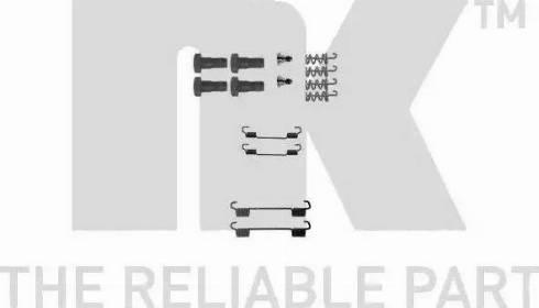 NK 7933716 - Kit d'accessoires, mâchoires de frein de stationnement www.widencarpieces.com
