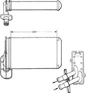 NRF 58622 - Système de chauffage www.widencarpieces.com