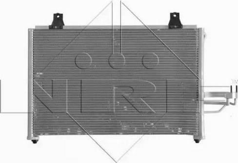NRF 350006 - Condenseur, climatisation www.widencarpieces.com