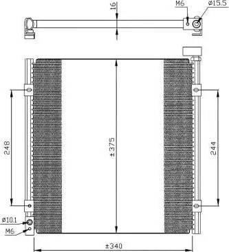 NRF 35264 - Condenseur, climatisation www.widencarpieces.com