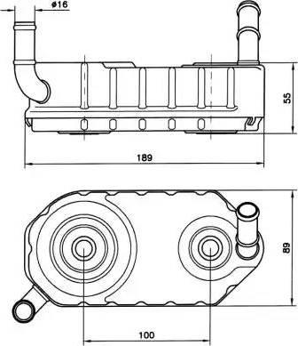 NRF 31004A - Radiateur d'huile de boîte automatique www.widencarpieces.com
