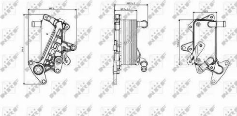 NRF 31357 - Radiateur d'huile de boîte automatique www.widencarpieces.com