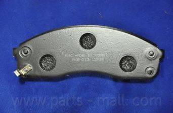 Parts-Mall PKB-013 - Kit de plaquettes de frein, frein à disque www.widencarpieces.com