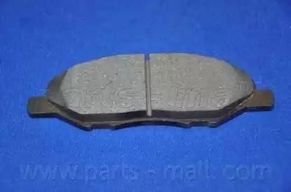Parts-Mall PKW-011 - Kit de plaquettes de frein, frein à disque www.widencarpieces.com