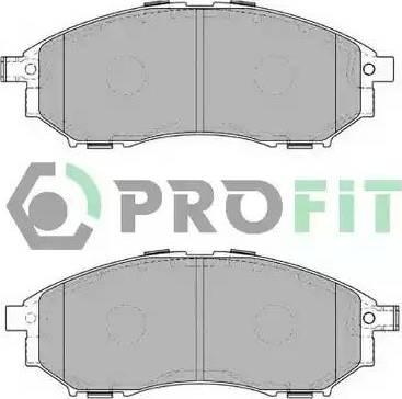 Profit 5000-4177 - Kit de plaquettes de frein, frein à disque www.widencarpieces.com