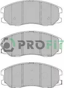 Profit 5000-1934 - Kit de plaquettes de frein, frein à disque www.widencarpieces.com