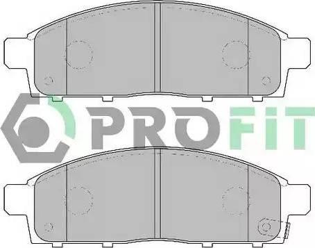Profit 5000-2016 - Kit de plaquettes de frein, frein à disque www.widencarpieces.com