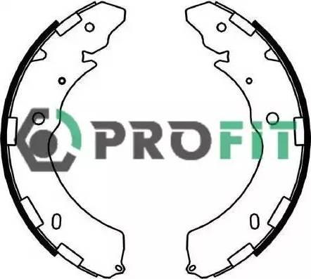 Profit 5001-4052 - Jeu de freins, freins à tambour www.widencarpieces.com