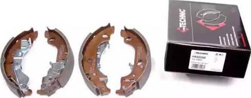 Protechnic PRS0098 - Jeu de freins, freins à tambour www.widencarpieces.com