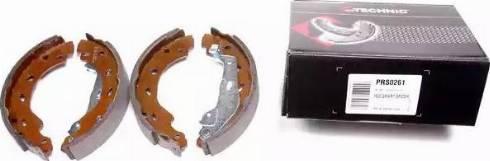 Protechnic PRS0261 - Jeu de freins, freins à tambour www.widencarpieces.com