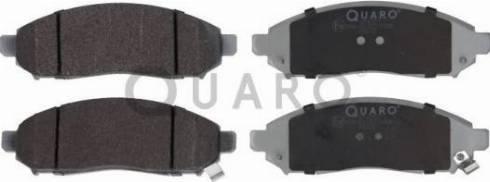 QUARO QP4252 - Kit de plaquettes de frein, frein à disque www.widencarpieces.com