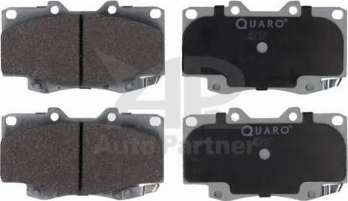 QUARO QP2433 - Kit de plaquettes de frein, frein à disque www.widencarpieces.com