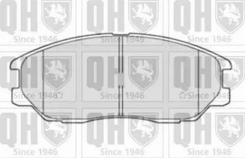 Quinton Hazell BP1510 - Kit de plaquettes de frein, frein à disque www.widencarpieces.com