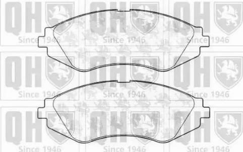 Quinton Hazell BP1069 - Kit de plaquettes de frein, frein à disque www.widencarpieces.com
