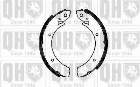 Quinton Hazell BS522 - Jeu de freins, freins à tambour www.widencarpieces.com