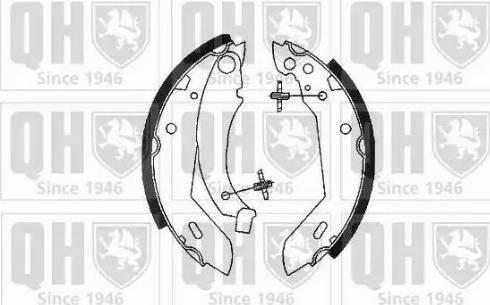 Quinton Hazell BS681 - Jeu de freins, freins à tambour www.widencarpieces.com
