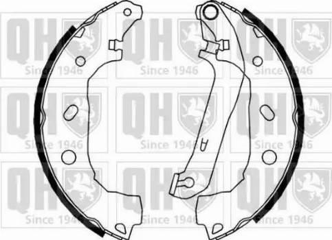 Quinton Hazell BS1150 - Jeu de freins, freins à tambour www.widencarpieces.com
