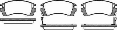Remsa 0363.02 - Kit de plaquettes de frein, frein à disque www.widencarpieces.com