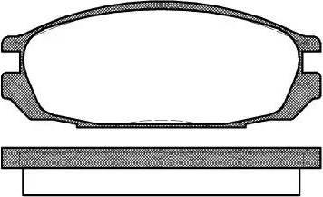 Remsa 0292.00 - Kit de plaquettes de frein, frein à disque www.widencarpieces.com
