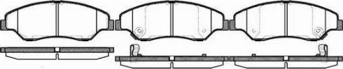 Remsa 0739.02 - Kit de plaquettes de frein, frein à disque www.widencarpieces.com