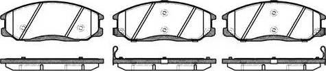 Remsa 0771.02 - Kit de plaquettes de frein, frein à disque www.widencarpieces.com