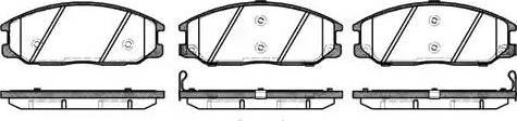 Remsa 0771.12 - Kit de plaquettes de frein, frein à disque www.widencarpieces.com
