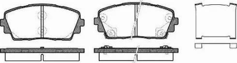 Remsa 1481.02 - Kit de plaquettes de frein, frein à disque www.widencarpieces.com