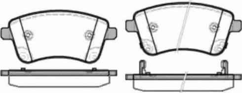 Remsa 1435.02 - Kit de plaquettes de frein, frein à disque www.widencarpieces.com