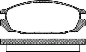 Roadhouse 2292.00 - Kit de plaquettes de frein, frein à disque www.widencarpieces.com