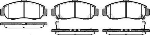 Roadhouse 2747.12 - Kit de plaquettes de frein, frein à disque www.widencarpieces.com
