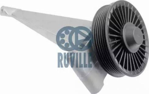 Ruville 55138 - Poulie renvoi/transmission, courroie trapézoïdale à nervures www.widencarpieces.com