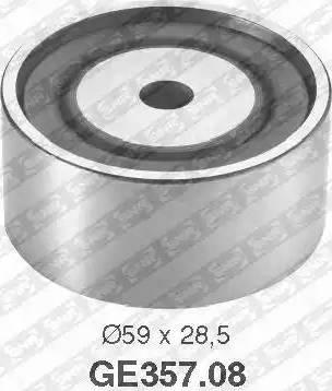 SNR GE357.08 - Poulie renvoi/transmission, courroie de distribution www.widencarpieces.com