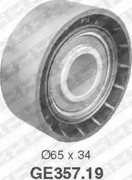 SNR GE357.19 - Poulie renvoi/transmission, courroie de distribution www.widencarpieces.com