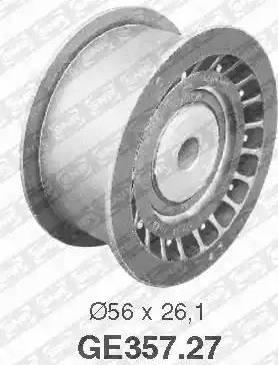 SNR GE357.27 - Poulie renvoi/transmission, courroie de distribution www.widencarpieces.com