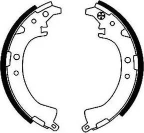 Textar 91048200 - Jeu de freins, freins à tambour www.widencarpieces.com