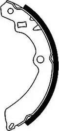 Textar 91042800 - Jeu de freins, freins à tambour www.widencarpieces.com