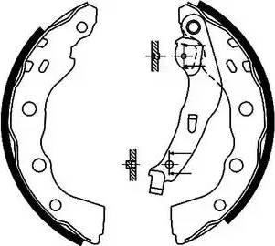 Textar 91056400 - Jeu de freins, freins à tambour www.widencarpieces.com