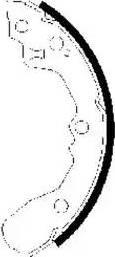 Textar 91061200 - Jeu de freins, freins à tambour www.widencarpieces.com