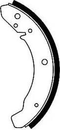 Textar 91007800 - Jeu de freins, freins à tambour www.widencarpieces.com