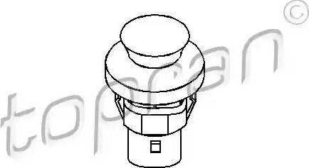 Topran 104035 - Interrupteur, contacteur de porte www.widencarpieces.com