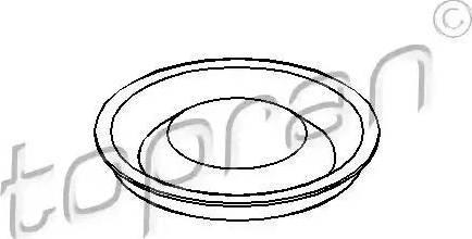 Topran 100068 - Couvercle, butée de débrayage www.widencarpieces.com