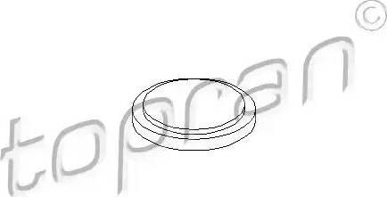 Topran 100084 - Couvercle de flasque, boîte de vitesse manuelle www.widencarpieces.com