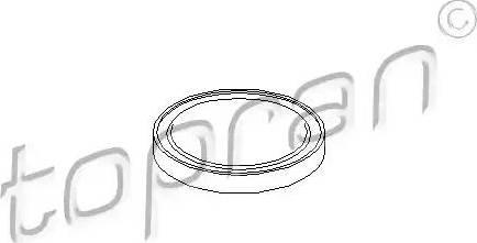 Topran 108618 - Couvercle de flasque, boîte de vitesse manuelle www.widencarpieces.com