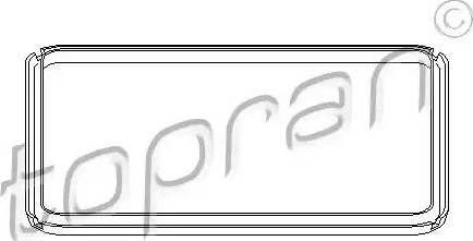 Topran 108756 - Joint, carter d'huile-boîte automatique www.widencarpieces.com